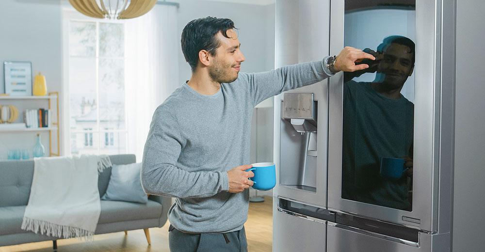 """Amazon разрабатывает """"умный"""" холодильник"""