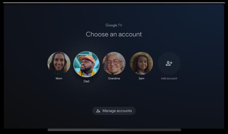 Google TV будет персонализирован для каждого пользователя!